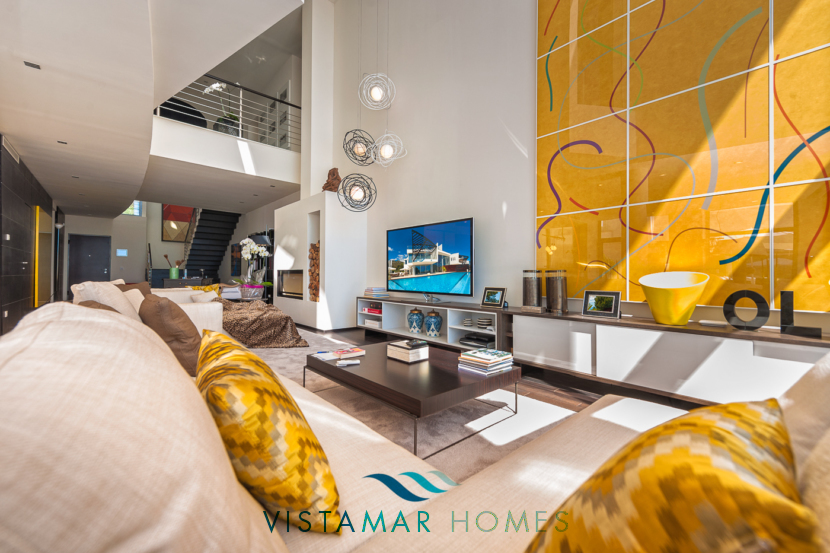 Large and Modern Living Rooms · VMD010 Luxury Apartments Sierra Blanca Marbella