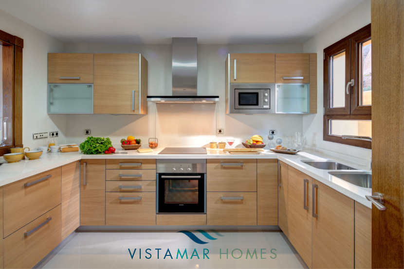 New Modern Designer Kitchen · VMV010 Exclusive Residential Homes in Benahavis