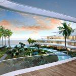 Amazing new luxury homes first line beach Estepona
