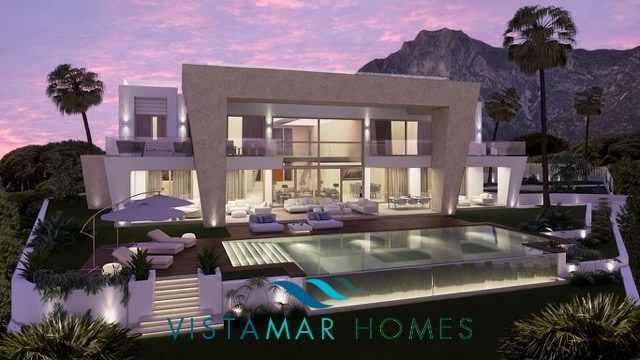 Modern luxury Project Villa in Sierra Blanca